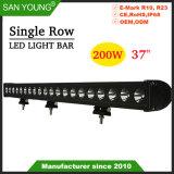 200W 37pouces CREE LED Super Bright Light Bar Offroad LED Lampe à LED de feu de brouillard de conduite