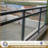 Hot-DIP Acier Galvanisé Aluminium Balcon Balustrade