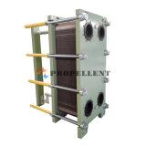 Le châssis & Plaque Échangeur de chaleur pour l'eau source de chaleur du système de climatisation de la pompe