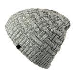 Casquillo del invierno del casquillo de la gorrita tejida de las lanas de la alta calidad el 100%