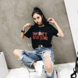 Custom хлопка печатается новая футболка изготовлена в Китае