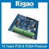 Conjunto do PCB de controlo Funcation com máscara de Solda azul