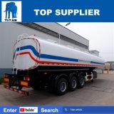 Tanker van de Vrachtwagen van de Stookolie van de Prijs van de titaan de Goede Zware Aanhangwagen van de Tank van de Olie van de Aanhangwagen van de Tank van de Brandstof van 50000 Liter de Semi voor Verkoop