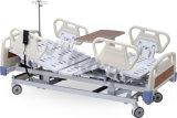 Пять функций больничной койки с электроприводом