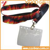 Lanière de carte d'identification de mode avec le logo fait sur commande (YB-LY-LY-18)