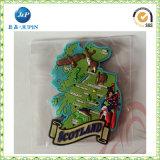 magnete del frigorifero del PVC 3D per la corsa (JP-FM059)