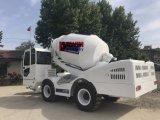 판매를 위한 이동할 수 있는 믹서 트럭 분배기를 적재해 경쟁가격 디젤 엔진 각자