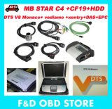 4GB RAM CF19+MB Star C4 SD Connect +HDD Mercedes Star Diagnose Xentry DTS Monaco System Compact 4 Multiplexer für Benz Diagnose