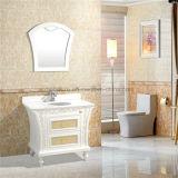 Europäisches Style White Floor - eingehangenes PVC Bathroom Cabinets