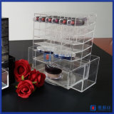 Yageli Factory Novo Design Spinning Rotating Acrylic Lipstick Holder