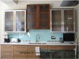 Painel Contra Salpicos de vidro temperado para parede de cozinha