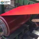 Material de construção de qualidade privilegiada de aço revestido de cor