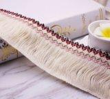 Doppio merletto della frangia del filetto di alta qualità 6cm per la decorazione