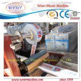 PVC Windows와 문 단면도 플라스틱 압출기 기계 생산 라인