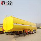 Tri acoplado vendedor caliente del petrolero de los árboles 40cbm 40000L