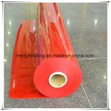 Pellicola rossa della tenda del PVC della saldatura