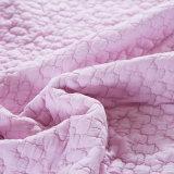 Haupttextilgroßverkauf-Baumwollpurpurrote Königin und König Size Bedspreads