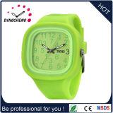 (DC-443) Вахта кремния способа wristwatch браслета вахты студня силикона, цветастые планки