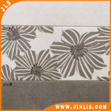 Los materiales de construcción muy cool mosaico de la pared de cerámica de la flor de color gris