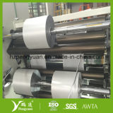 Paño incombustible de la fibra de vidrio del papel de aluminio, hoja laminada