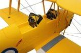 Fly 2.4GHz 1270mm Wingspan에 1068957 호랑이 Moth RC 4 Channel 비스무트 Plane Ready