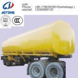 30-40cbm 2 ejes de transporte de combustible/aceite semi remolque depósito