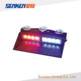 16W LED de luz ámbar intermitente la luz del parabrisas de coches