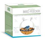 Premium Window Clear Acrylic Bird Feeder avec belle boîte cadeau