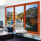 Feelingtop personalizados de alta qualidade duplas de vidro corrediço de alumínio para casas