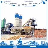 Hzs50 (50m3/h) planta de tratamento por lotes concreta estacionária de levantamento do funil no mercado