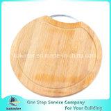 Runder Bambusausschnitt-Vorstand-hackender Vorstand-Käse-Bambusvorstand