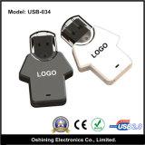 Azionamento di plastica dell'istantaneo del USB della maglietta (USB-034)
