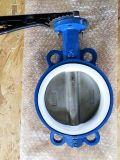 Ci/Di/CF8 de Vleugelklep van het Wafeltje Met EPDM/PTFE