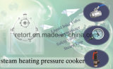 ステンレス製のSteel Pressure Cooker (真空のjacketed炊事道具)