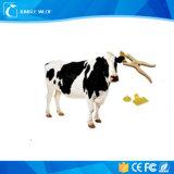 Markering van het Oor Em4305 RFID van Hdx 125kHz van het Volgende Systeem van het Vee van de koe de Dierlijke voor het Landbouwbedrijf van Nieuw Zeeland