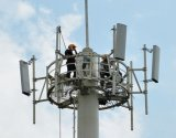 無線GSMコミュニケーションMonopoleタワー