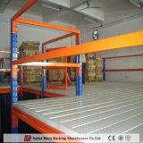 ISO9001 aprovou a construção de aço da China Nanjing Mezanino Multi-Level Estante