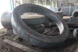 Peças forjadas em liga de aço pesadas, Anel, flange forjados