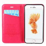 ビジネスiPhone 7のための標準的なPUの革携帯電話の箱