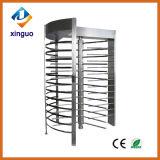 ステンレス鋼のアクセス制御バーコードの読取装置の完全な高さの回転木戸