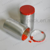 Pot de luxe en aluminium pour emballage cadeau en chocolat (PPC-AC-019)