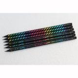 Haute qualité Blackwood crayons HB avec l'argent fin, la promotion des crayons DIP