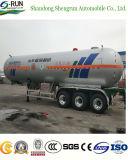 3 LKW LPG-Tanker-Schlussteil der Wellen-57.5cbm Hochleistungs-LPG