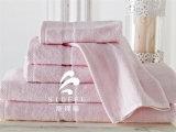 De in het groot VijfsterrenHanddoek van het Hotel, de Handdoek van de Jacquard, Badhanddoek