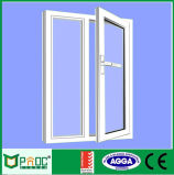 Ventana abatible de perfil de aluminio con panel simple Fabricado en China