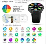 Smart Watch Kw88 teléfono inteligente Quad Core Pedómetro Sensor de gravedad GPS Blanco Color