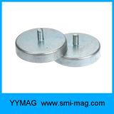 Forte magneti del POT del magnete della tazza svasati neodimio eccellente