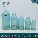 Bouteille d'huile essentielle en verre personnalisé