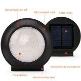 Indicatori luminosi solari 16 esterni LED lampada senza fili impermeabile dell'indicatore luminoso di obbligazione dell'indicatore luminoso del sensore di movimento del radar di a microonde della lega di alluminio di 260 lumen per la via dell'iarda del giardino