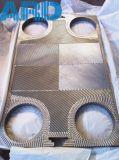 Plaque d'échangeur de chaleur de plaque du titane C2000 AISI304 AISI316 de Tranter Gx85 Gx100